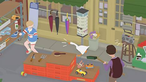 Untitled Goose Game on epätodennäköinen hitti, jossa hanhi terrorisoi maalaisia.