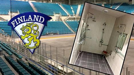 IS tutustui Etelä-Korean olympiakisojen jäähalliin Gangneungissa.