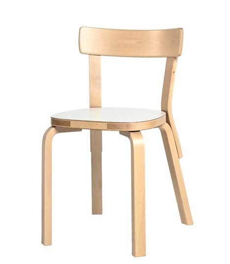 Artekin kalusteet käyvät kaupaksi. Kuvassa Aalto-tuoli 69.