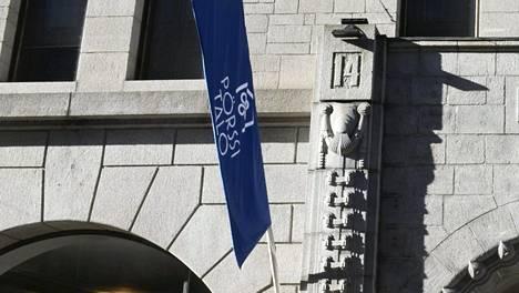 Helsingin pörssi kuvituskuvassa.