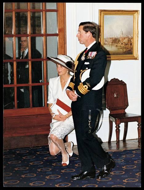 Dianan ja Charlesin ero astui voimaan vuonna 1996.