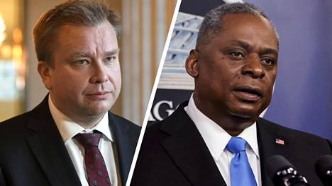 Puolustusministerit Antti Kaikkonen ja Lloyd Austin aikovat Pentagonin mukaan tavata henkilökohtaisesti heti, kun se on mahdollista.