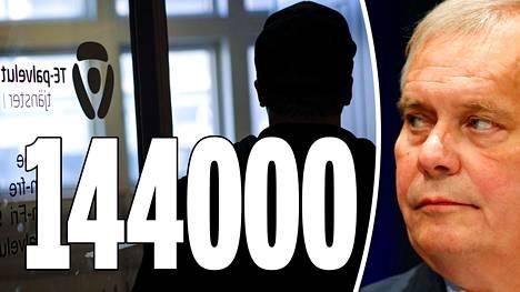–Sitten on 144000 ihmistä, jotka ovat täysin työkykyisiä. Mutta me emme edes tiedä, missä he ovat. Siellä on iso potentiaali, pääministeri Antti Rinne sanoi.
