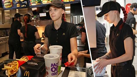 Kotkalaisen Carol Petrauskasin työpäivä alkaa aamuviiden tienoilla paikallisessa leipomossa ja päättyy yömyöhään McDonald'sin ravintolassa.
