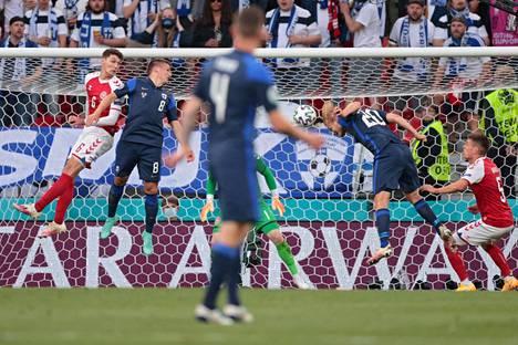 Joel Pohjanpalo puski Suomen voittoon ottelun ainoalla maalilla Jere Urosen keskityksestä, kun ottelua oli pelattu 59 minuuttia.