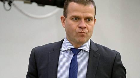 Kokoomuksen puheenjohtaja, valtiovarainministeri Petteri Orpo eduskunnan täysistunnossa Helsingissä tiistaina 27. syyskuuta 2016.