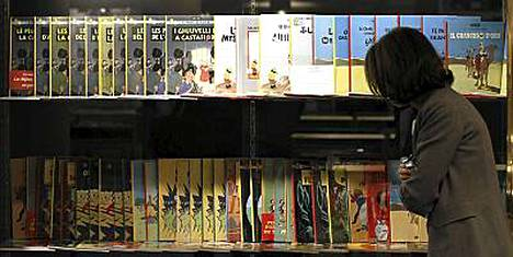 Tintti-fanien iloksi myynnissä on peräti 230 harvinaisuutta.