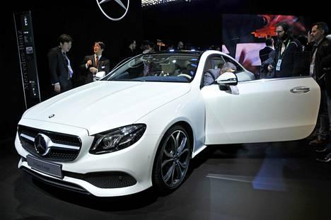 Mercedes-Benz E Coupé.