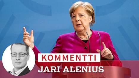 Liittokansleri Angela Merkelillä  on ollut sanottavaa.