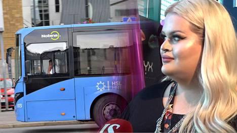 Henry Harjusola sanoo olevansa poikkeuksetta ainoa, jolta kysytään bussissa matkakortin lisäksi paperit.