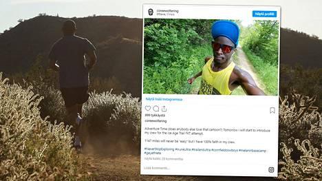 Ultrajuoksija Coree Woltering läpäisi lähes 2000 kilometriä pitkän reitin ennätysajassa. Hän taisteli matkalla punkkien ja nyrjähtäneen nilkan kanssa.