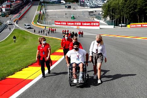 Juan Manuel Correa vieraili Span radalla viime kesänä.