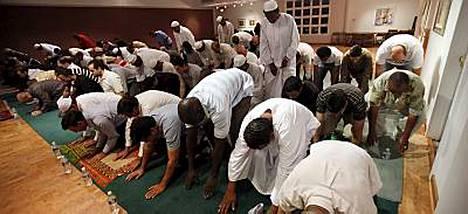 Virginialainen synagoga toimii myös moskeijana.
