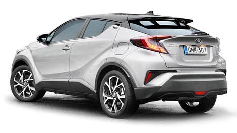 Kuvassa Toyota C-HR.