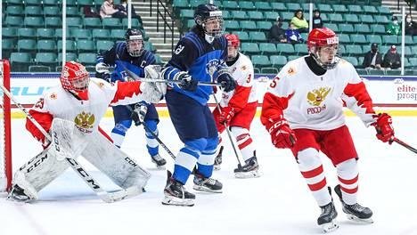 Suomi ja Venäjä pelasivat paikasta loppuotteluun.