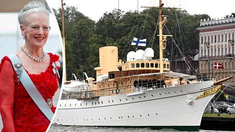 Kuningatar Margareeta pysähtyi Helsingissä matkallaan Tallinnaan.