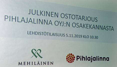 Mehiläinen teki viime vuoden lopussa ostotarjouksen Pihlajalinnasta.