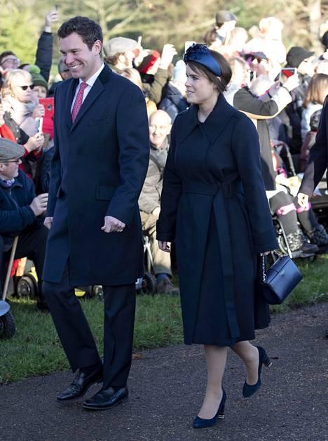 Prinsessa Eugenie ja Jack Brooksbank vihittiin vuonna 2018.