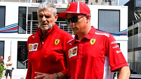 Ferrarilta potkut saanut tallipomo Maurizio Arrivabene saattaa seurata ex-kuskiaan Kimi Räikköstä Sauberin palvelukseen.