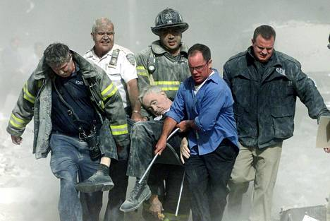 Palomiehistä tuli New Yorkin sankareita.