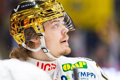 Ville Leskinen pelaa Kärpissä vahvaa kautta.