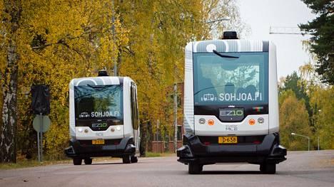 Toistaiseksi Suomessa on nähty tällaisia robottiautoja
