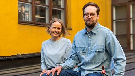 Terhi ja Jussi Marin halusivat hyödyntää jollain lailla historiallista löytöä.