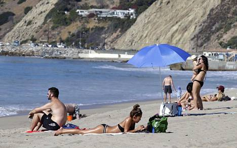 Kaliforniaa piinannut helleaalto kesti useiden päivien ajan.