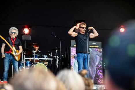 Eppu Normaali esiintyi heinäkuussa Tammerfest-festivaaleilla.