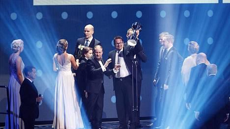 Koripallo oli gaalassa voitokas: Vuoden joukkue -palkinnon lisäksi koripallon EM-kisat palkittiin Vuoden urheiluilmiönä.