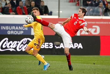 Venäjä ja Belgia pelaavat samassa EM-karsintalohkossa ja lienevät suurella todennäköisyydellä myös samassa EM-kisalohkossa.