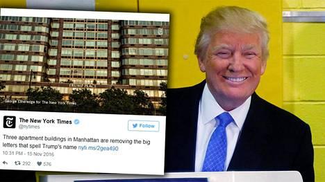 Donald Trumpista tulee tammikuussa Yhdysvaltain presidentti.