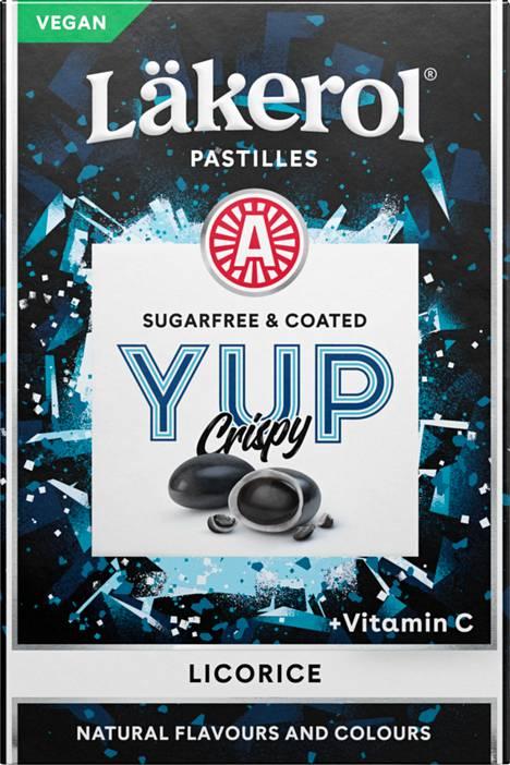 Läkerol Yup Crispy Licorice 40g