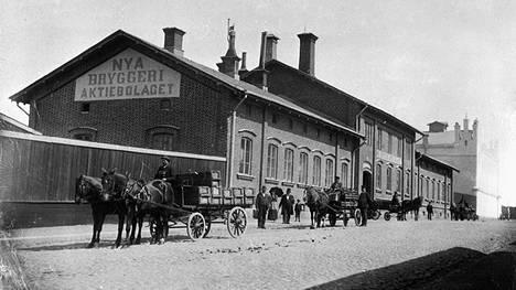 Vanha panimo sijaitsi Itäisellä Pitkäkadulla.
