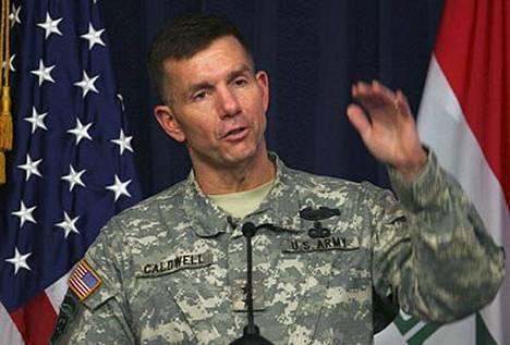 Armeijan tiedottajan kenraalimajuri William Caldwellin mukaan Yhdysvallat ei ollut osallisena Saddam Husseinin hirttämiseen.
