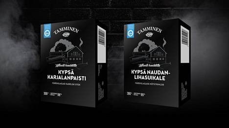 Lihatalo Tammisen uutuustuotteet, Talman perinnesavustamon kypsä karjalanpaisti ja kypsä naudanlihasuikale mahdollistavat hitaasti haudutettavien pataruokien pehmeyden myös arkipäivien kiireessä.
