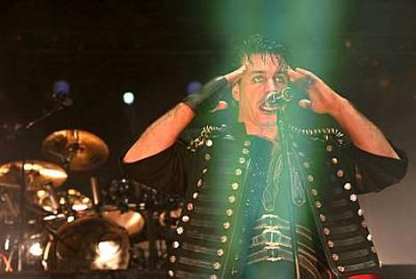 Rammstein on suosittu myös Suomessa.