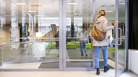 Te-toimisto Pasilassa, Helsingissä.