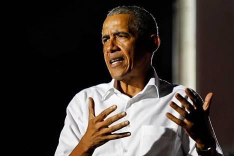 Yhdysvaltain entisen presidentin Barack Obaman muistelmat julkaistaan 17. marraskuuta.