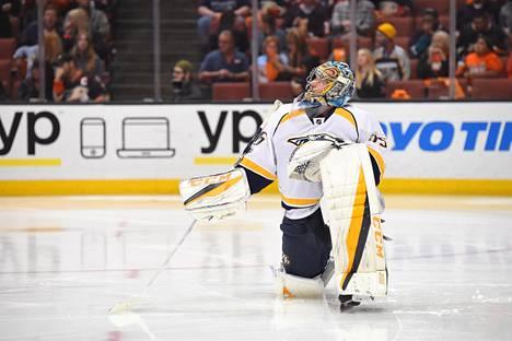 Pekka Rinne on kulkenut pitkän tien NHL:n huipulle.
