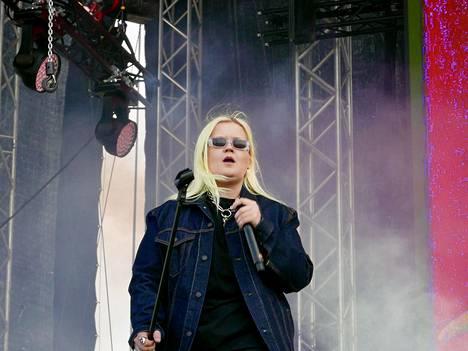 Alma nähtiin viikko sitten Tukholman Lollapalooza-festivaaleilla.
