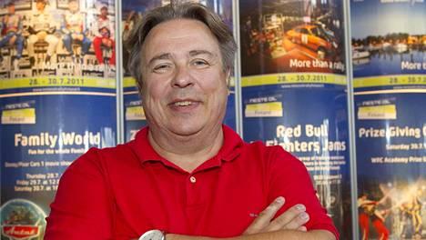 Jarmo Mahonen on FIA:n rallipomo.