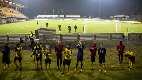 KuPS juhli viime viikolla voittoa liettualaisesta Suduvasta.