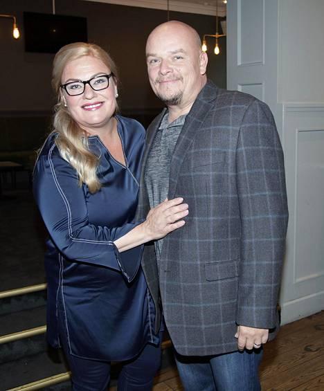 Sanna Saarijärvi ja Hermanni Seppälä vuonna 2017.