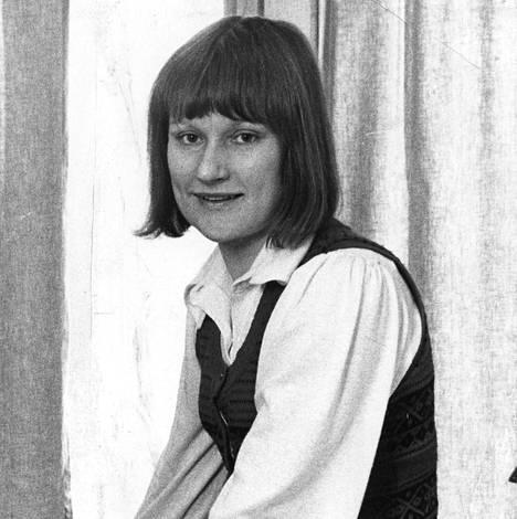 Tarja Halonen vuonna 1974.