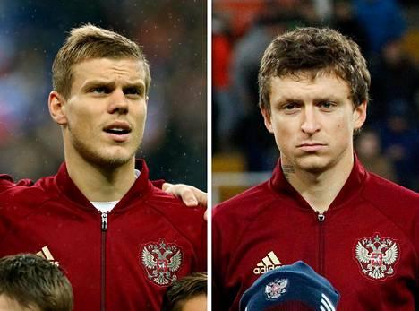 Kokorin ja Mamajev pelasivat Venäjän EM-joukkueessa Ranskassa 2016. Turnauksen jälkeen maajoukkueen ja kaksikon maine sai suuria kolhuja.