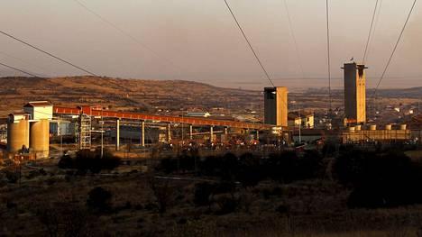 Mponengin kaivos sijaitsee lähellä Carletonvillen kaupunkia Johannesburgin länsipuolella.