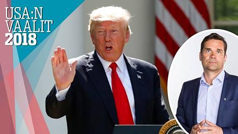 Välivaalit ratkaisevat miten Trumpille käy, arvioi Ulkopoliittisen instituutin ohjelmajohtaja Mika Aaltola.