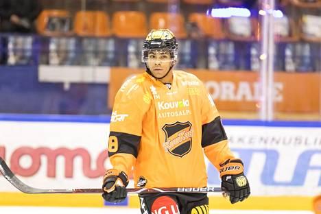 Joonas Oden on jo noussut KooKoon liigajoukkueeseen. Hän on pelannut tällä kaudella kahdeksan SM-liigan ottelua.