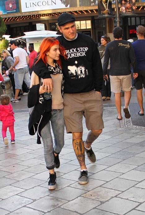 Hayley Williams ja Chad Gilbert olivat yhdessä 10 vuotta.